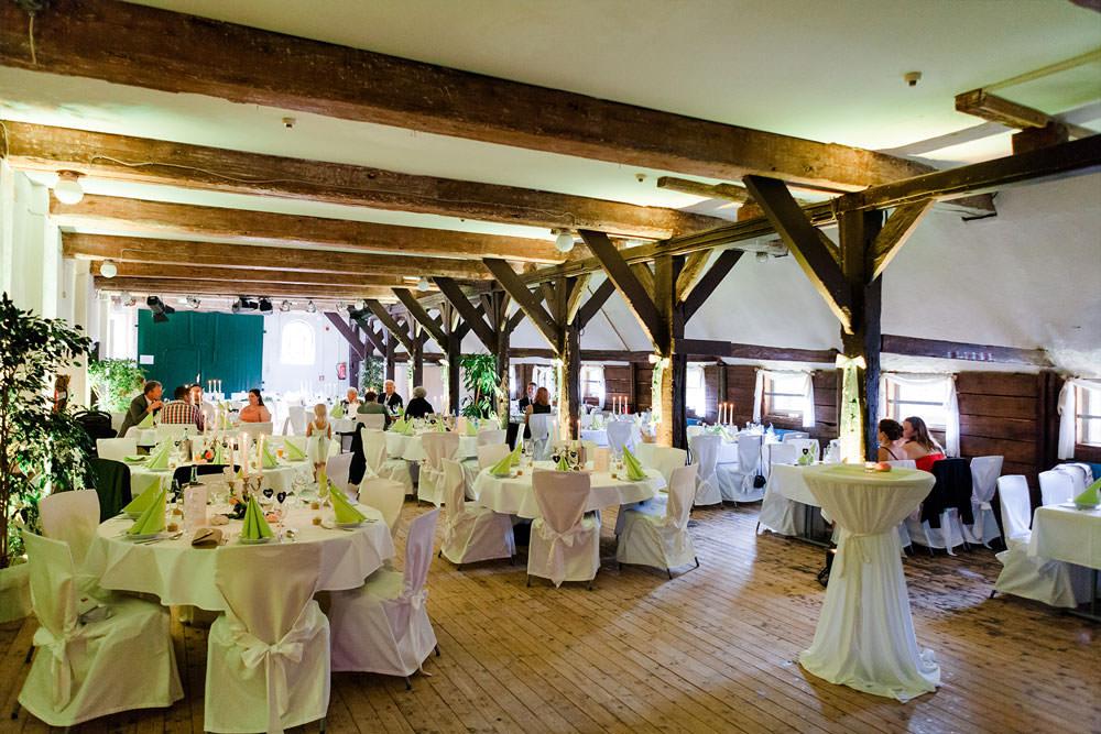 Hochzeit im Pferdestall - Schloss Agathenburg